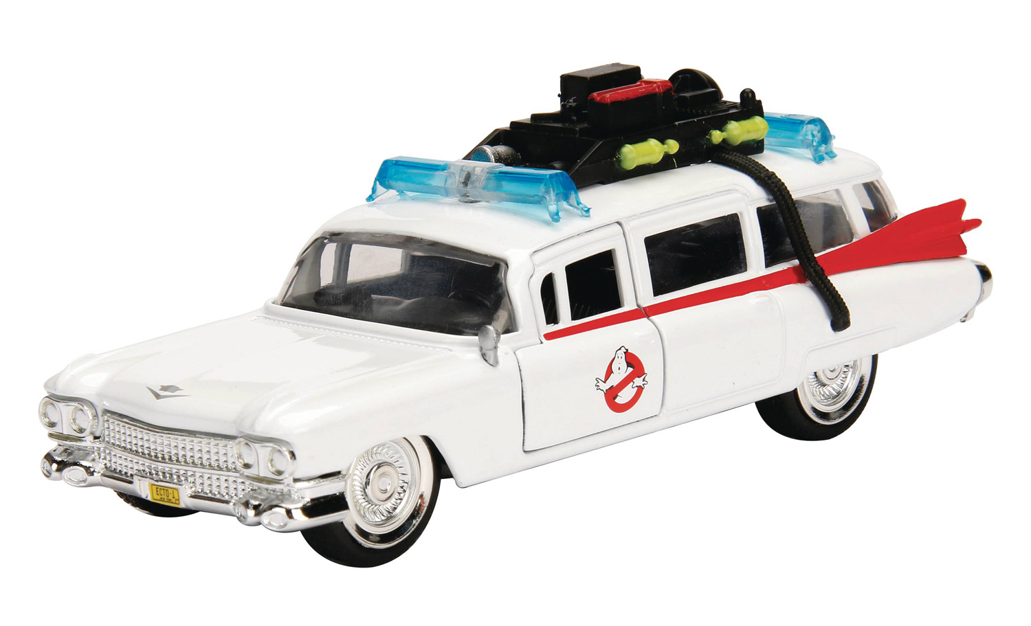 Image: Metals Die-Cast Hollywood Rides: Ghostbusters - Ecto-1  - Jada Toys, Inc