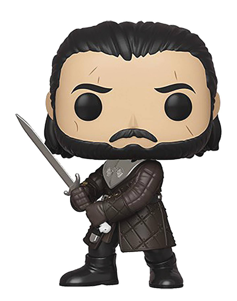 Image: Pop! TV Vinyl Figure: Game of Thrones - Jon Snow  - Funko