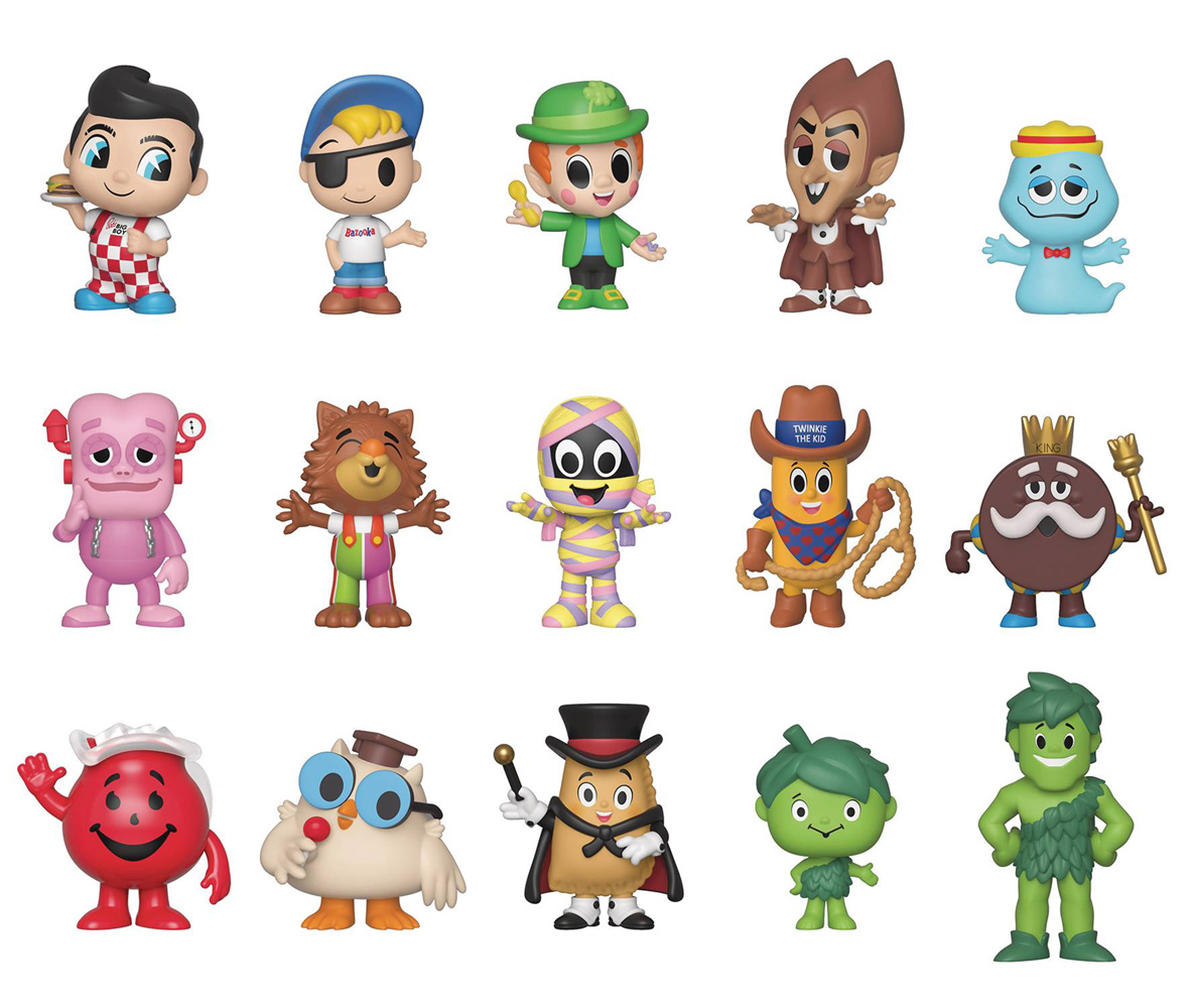 Image: Specialty Series Mystery Minis Ad Icons 12-Piece Blind Mystery Box Display  - Funko