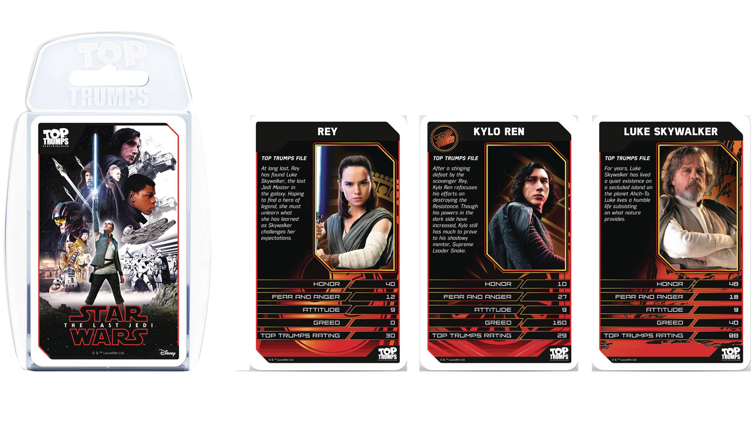 Star Wars Top Trumps: Last Jedi  - Top Trumps Usa, Inc