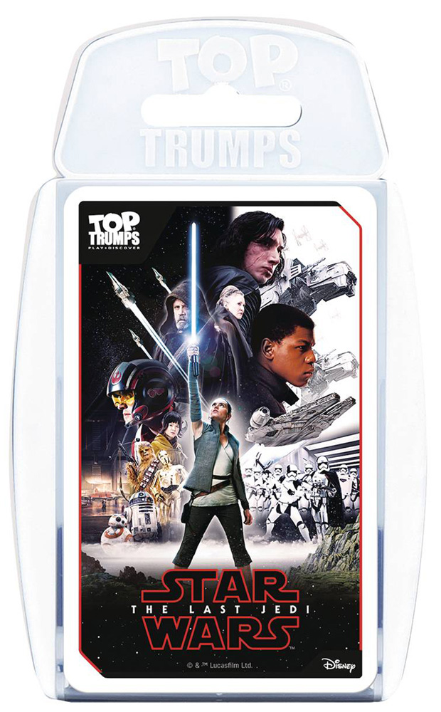 Image: Star Wars Top Trumps: Last Jedi  - Top Trumps Usa, Inc