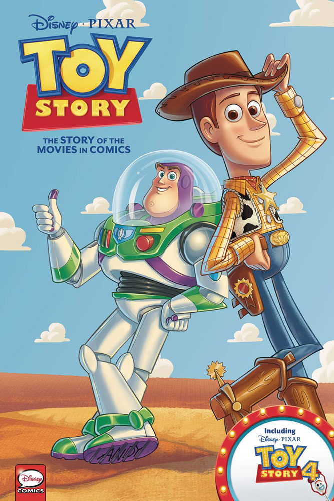 Image: Disney/Pixar Toy Story: The Story Of The Movies In Comics HC  - Dark Horse Comics