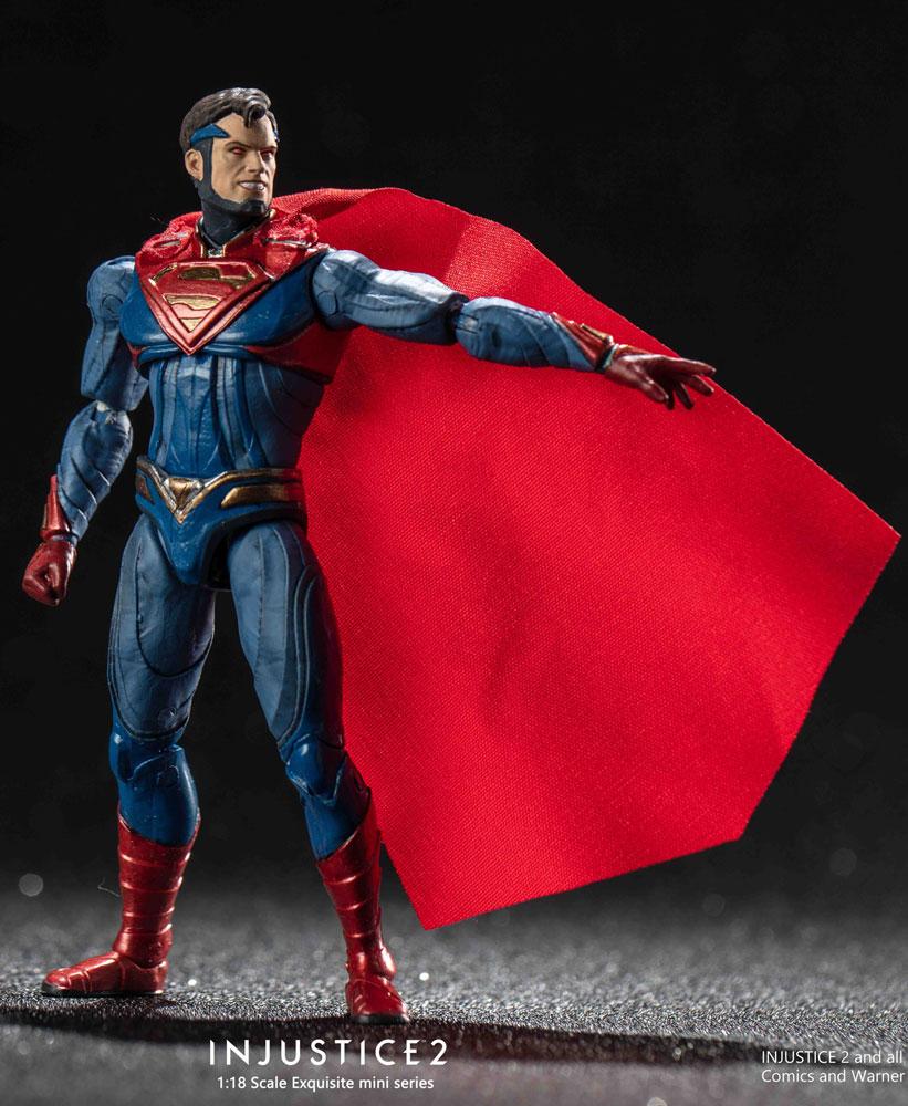 Injustice 2 PX Figure: Superman  (Enhanced Version) (1/18 Scale) - Hiya Toys