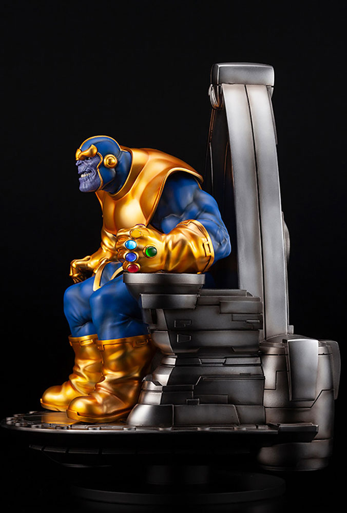 Marvel Fine Art Statue: Thanos On Space Throne  - Kotobukiya