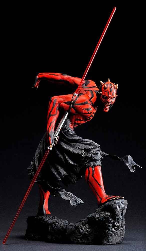 Star Wars ARTFX Statue: Darth Maul  (Ukiyo-E Version) - Kotobukiya