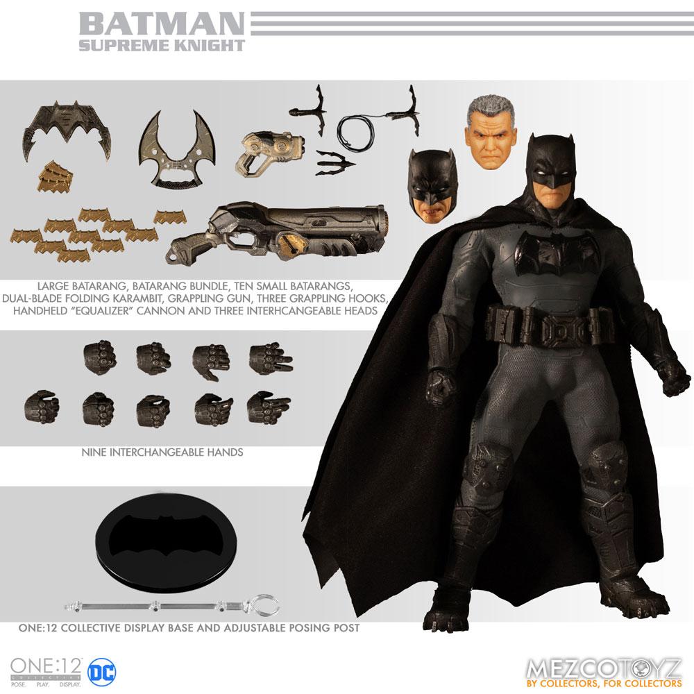 One-12 Collective DC Action Figure: Supreme Knight Batman  - Mezco Toys