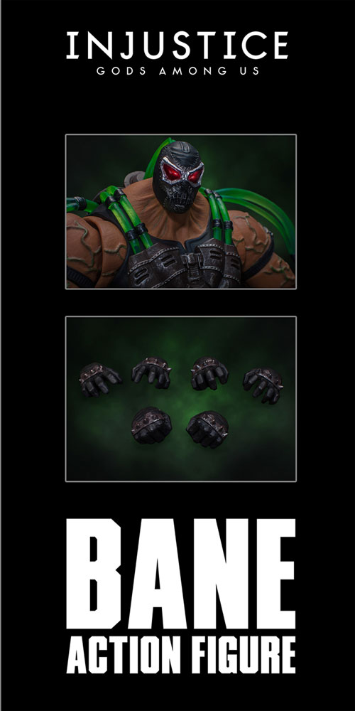 Storm Collectibles Injustice Gods Among Us Action Figure: Bane  (1/12 Scale) - Storm Collectibles