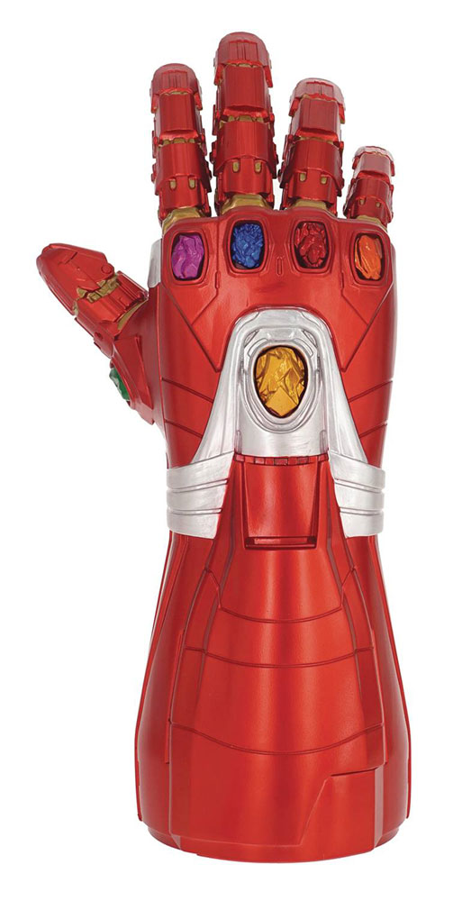 Image: Endgame PVC Figural Coin Bank: Iron Man Nano Gauntlet  - Monogram Products