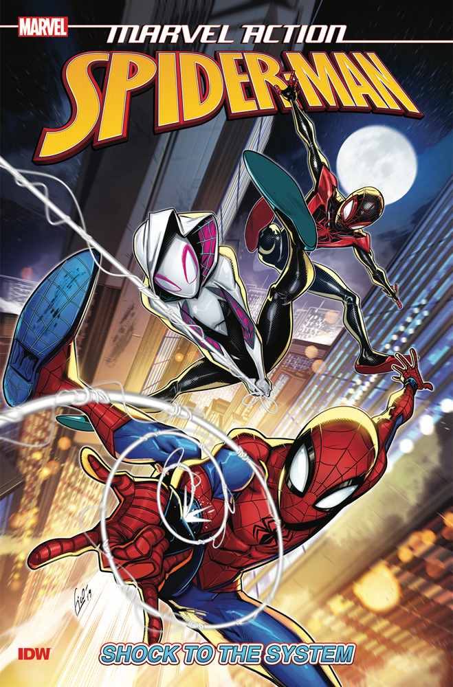 Image: Marvel Action: Spider-Man - Shock to the System SC  - IDW Publishing
