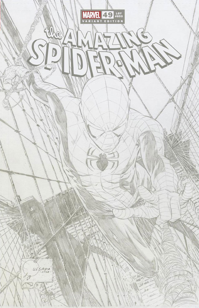 AMAZING SPIDER-MAN #25 IMMONEN 1:50 INCENTIVE VARIANT COVER