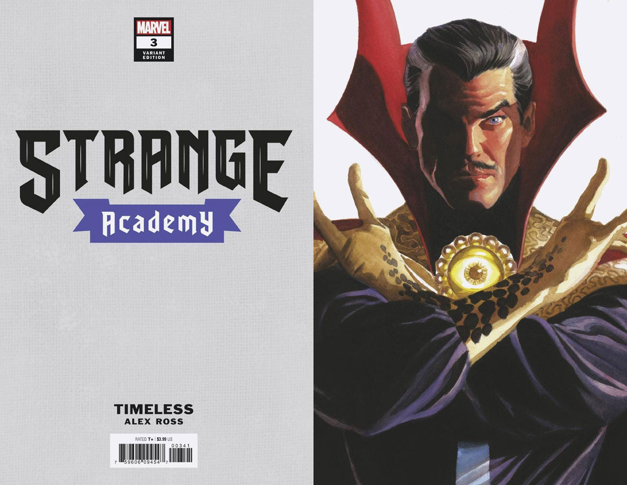 Strange Academy #3 (variant Alex Ross Timeless cover - Doctor Strange)  [2020] - Marvel Comics
