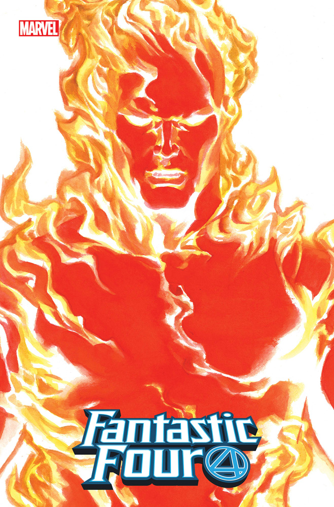 Image: Fantastic Four #24 (Emp) (variant Timeless cover - Alex Ross Human Torch) - Marvel Comics