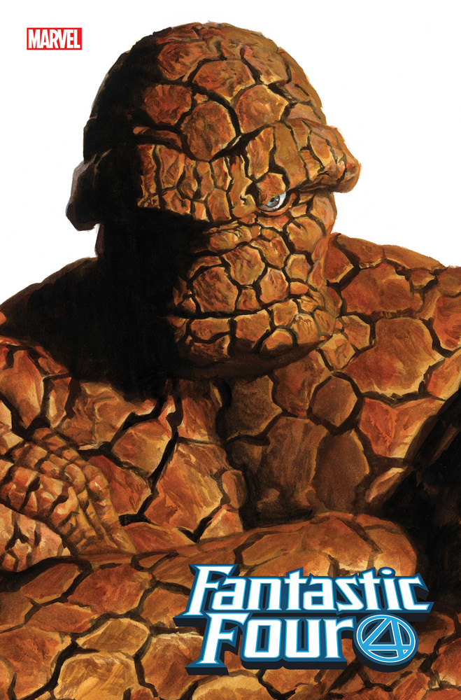 Image: Fantastic Four #24 (variant Alex Ross Timeless cover - Thing) - Marvel Comics