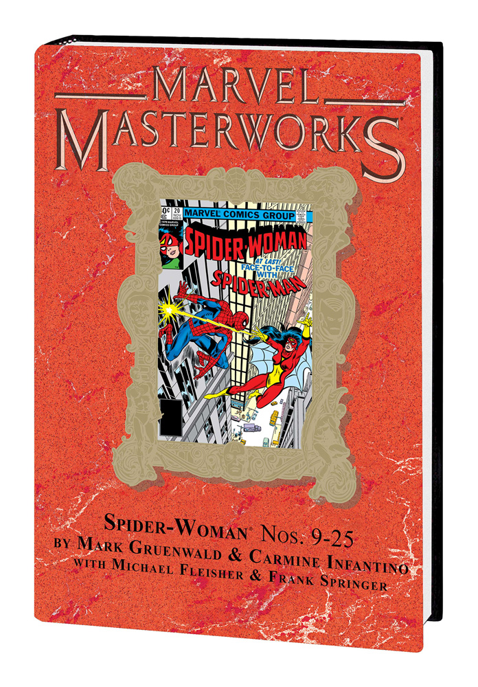 Image: Marvel Masterworks: Spider-Woman Vol. 02 HC  (variant DM cover - Frank Springer) - Marvel Comics