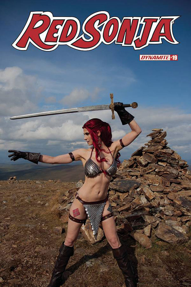 Image: Red Sonja #19 (cover E - Decobray Cosplay) - Dynamite