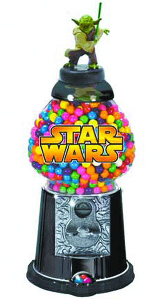 Image: Yoda Desktop Antique Gumball Machine  -