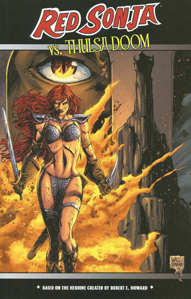 Image: Red Sonja vs. Thulsa Doom SC  -