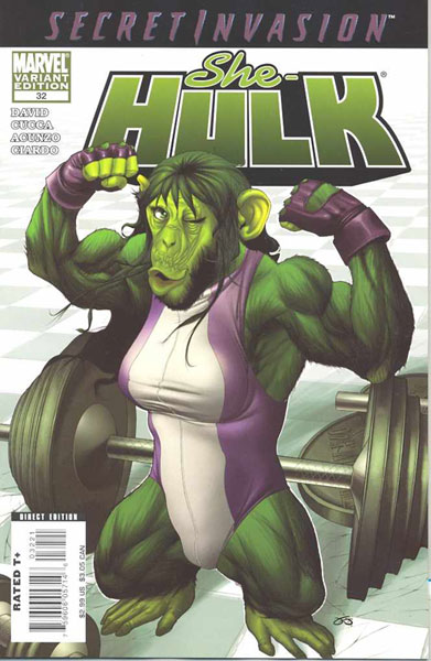 Image: She-Hulk 2 #32 (incentive cover - Deodato) - Marvel Comics