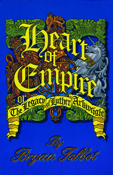 Image: Heart of Empire: The Legacy of Luther Arkwright SC  (new printing) - Dark Horse