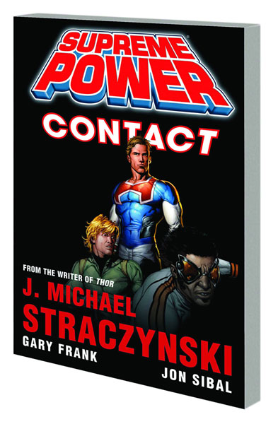 Image: Supreme Power: Contact SC  (new printing) - Marvel Comics