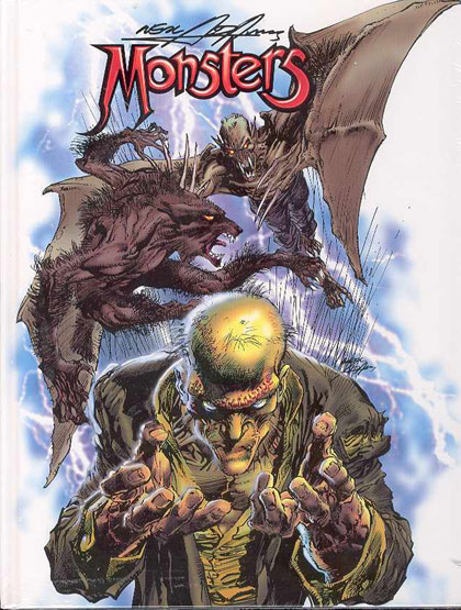 Image: Neal Adams' Monsters HC  - Vanguard Productions