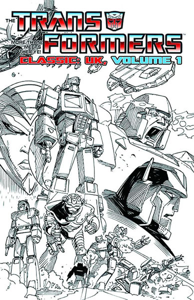 Image: Transformers Classics UK Vol. 01 SC  - IDW Publishing
