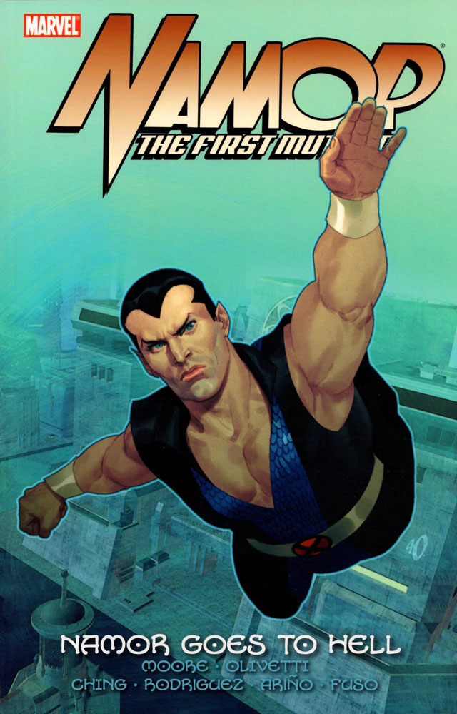 Image: Namor: First Mutant Vol. 02 - Namor Goes to Hell SC  - Marvel Comics