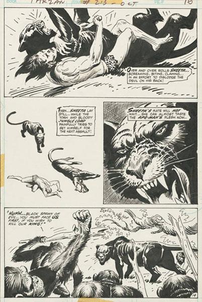 Joe Kubert's Tarzan of the Apes Artist's Edition HC  - IDW Publishing