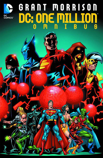 Ryan Sook drew the future in the past with this cover for the DC: One Million Omnibus