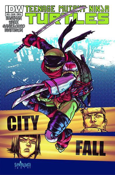 Teenage Mutant Ninja Turtles #25 - IDW Publishing