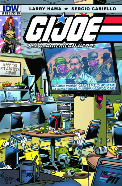 Image: G.I. Joe: A Real American Hero #193 - IDW Publishing