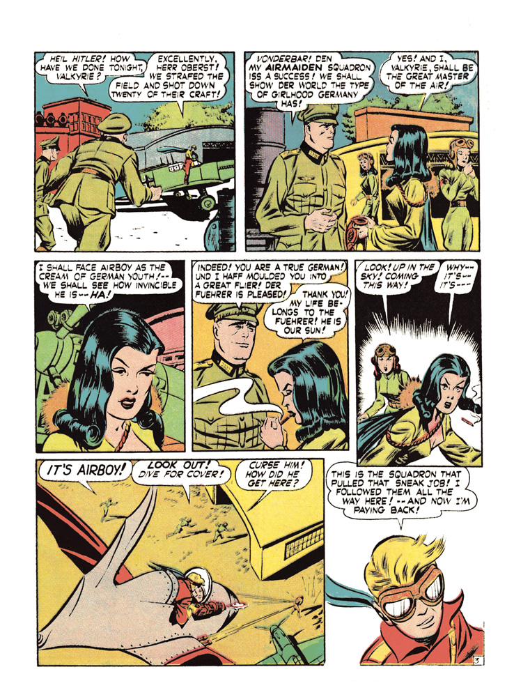 Complete Golden Age Airboy & Valkyrie HC  - Canton Street Press