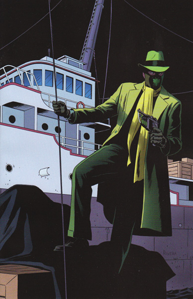 Image: Green Hornet #5 (25-copy Rivera virgin incentive cover) - Dynamite
