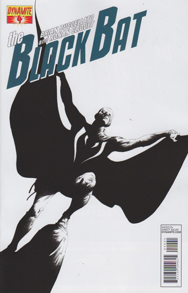 Image: Black Bat #4 (10-copy Lee B&W incentive cover) - Dynamite