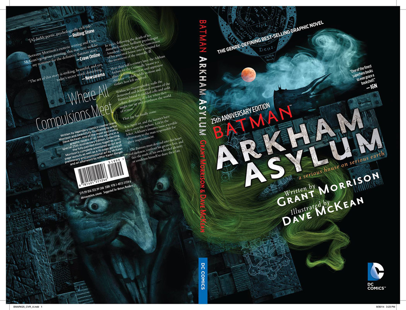 Batman: Arkham Asylum 25th Anniversary Edition SC  - DC Comics