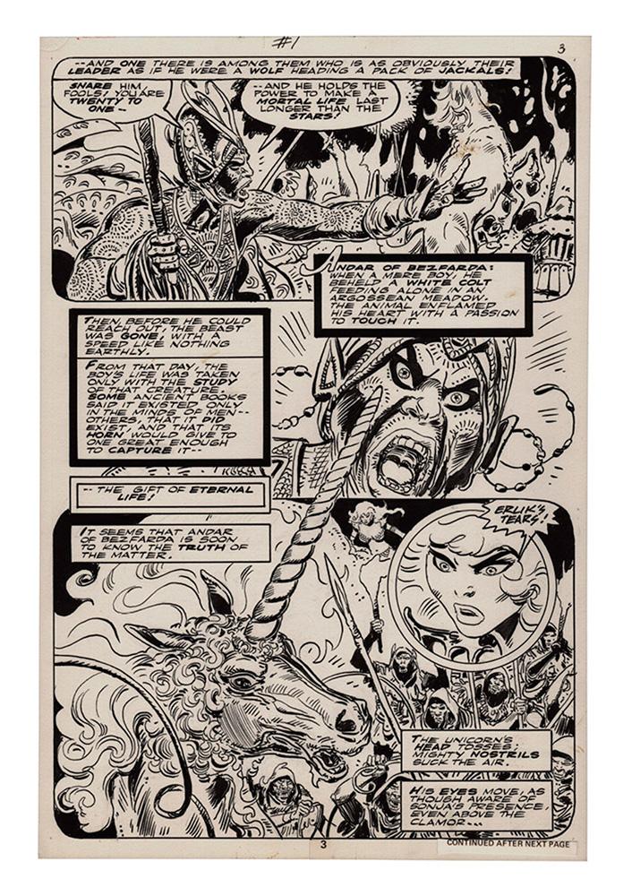 Frank Thorne's Red Sonja Art Edition Vol. 02 HC  - Dynamite