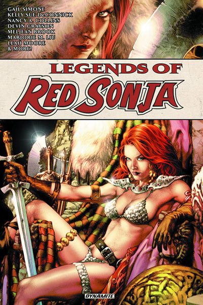 Image: Legends of Red Sonja Vol. 01 SC  - Dynamite