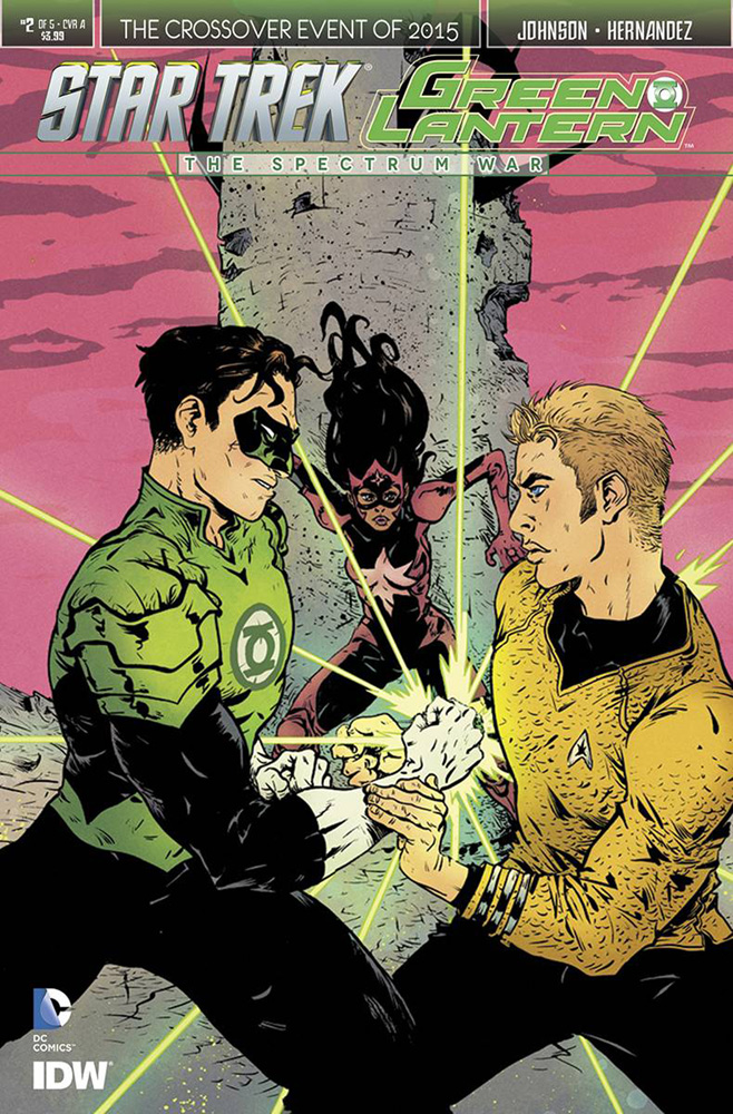Image: Star Trek / Green Lantern #2 (cover A - Pope) - IDW Publishing