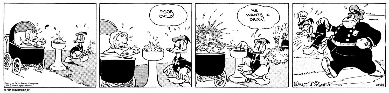 Walt Disney's Donald Duck: The Daily Newspaper Comics by Al Taliaferro Vol. 01  (1938-1940) HC - IDW Publishing