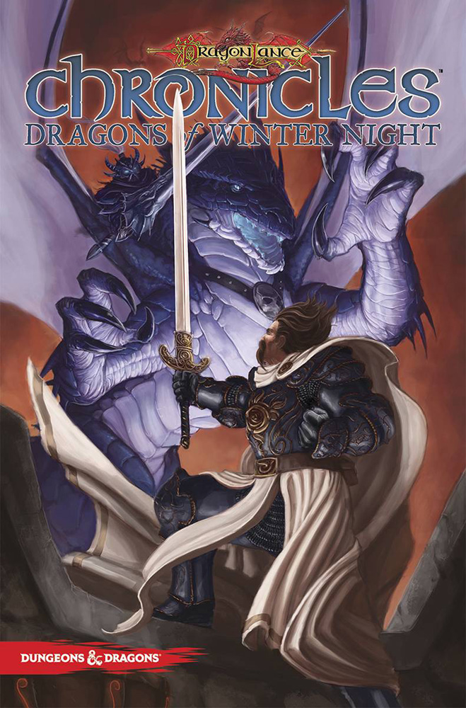Image: Dragonlance Chronicles Vol. 02: Dragons of Winter Night SC  - IDW Publishing