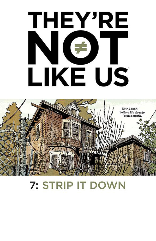 Image: They're Not Like Us #7 - Image Comics