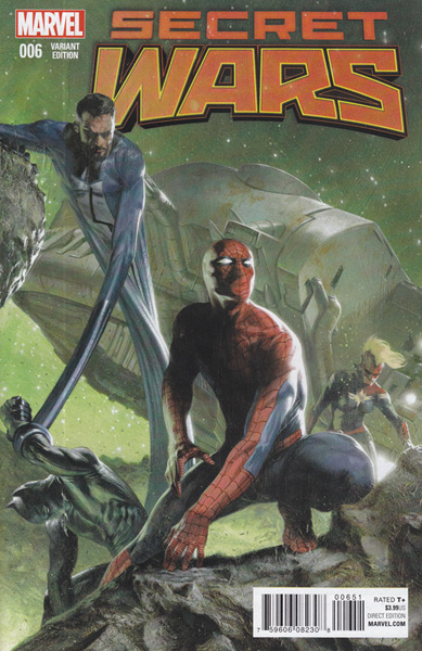 Image: Secret Wars #6 (Dell'Otto variant cover - 00651) - Marvel Comics