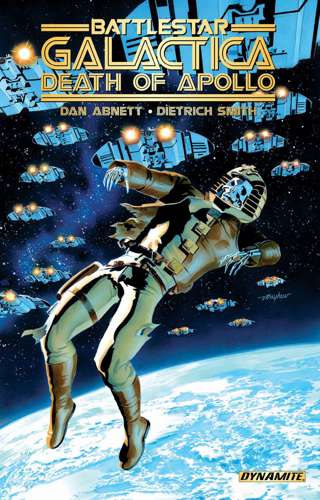 Image: Battlestar Galactica: The Death of Apollo Vol. 01 SC  - Dynamite