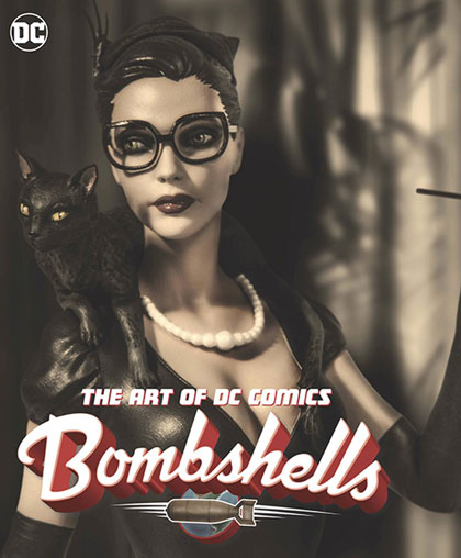 Image: Art of DC Comics Bombshells HC  - DC Comics
