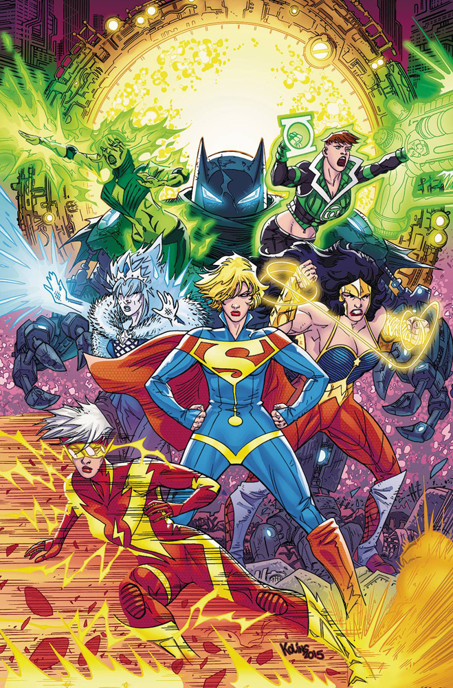 Image: Justice League 3001 Vol. 02: Things Fall Apart SC  - DC Comics