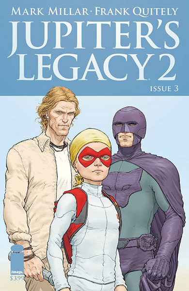 Image: Jupiter's Legacy Vol. 2 #3 (cover A - Quitely)  [2016] - Image Comics