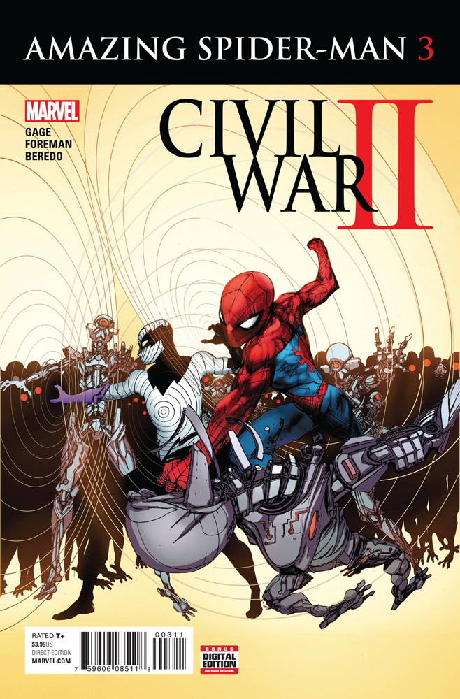 Image: Civil War II: Amazing Spider-Man #3  [2016] - Marvel Comics