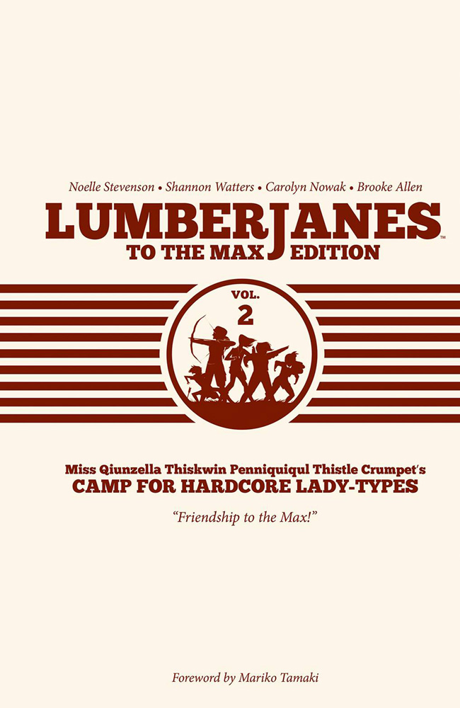 Image: Lumberjanes: To the Max Edition Vol. 02 HC  - Boom! Studios