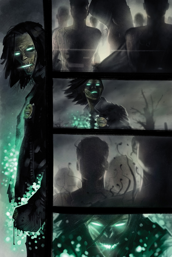 Evil Ernie: Godeater #1 (cover B - Templesmith)  [2016] - Dynamite