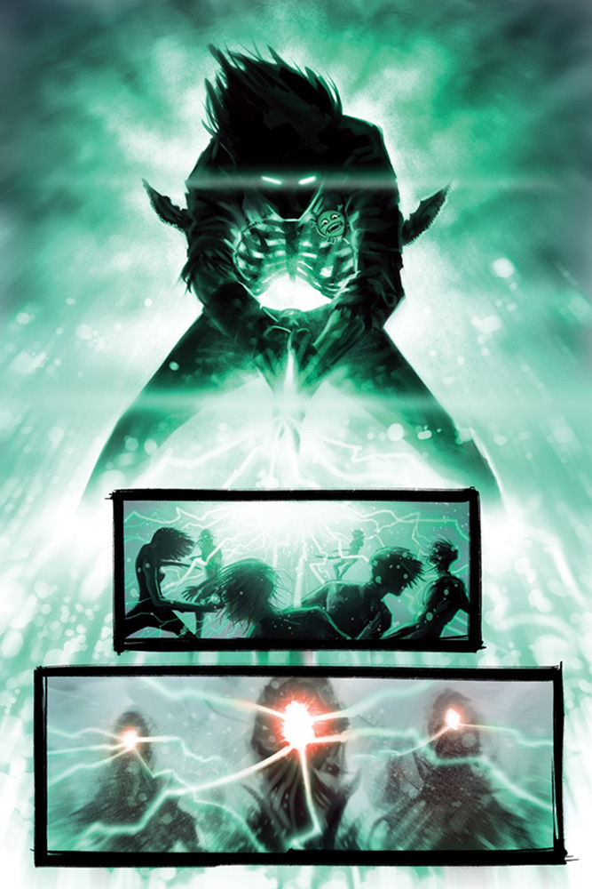 Evil Ernie: Godeater #1 (Templesmith virgin incentive cover - 01051) (20-copy)  [2016] - Dynamite